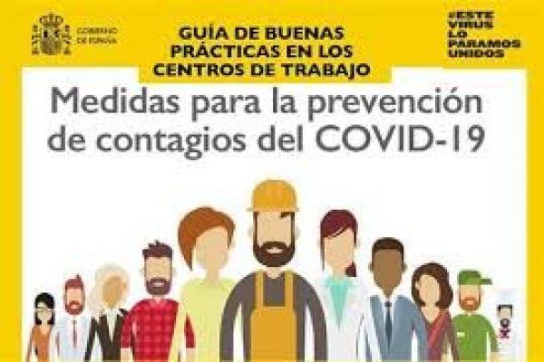 MEDIDAS DE PREVENCION EN CENTROS DE TRABAJO-COVID19.